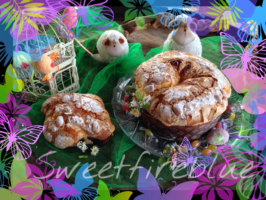 la colomba di pasqua con pasta madre (ma se siamo ancora in carnevale!?!)