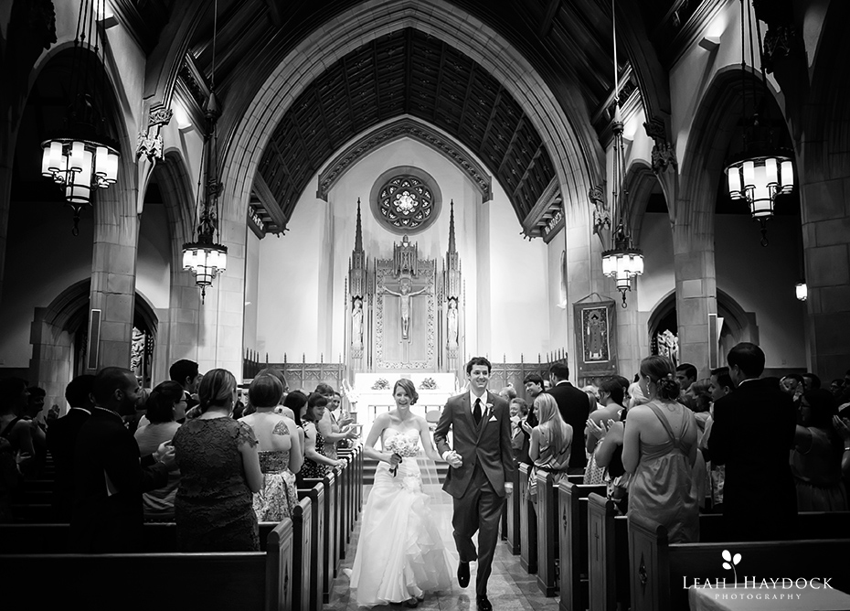 St Ignatius of Loyola Boston College Wedding Pictures