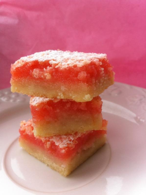 Pink Lemonade Bars | Cookin' And Kickin'