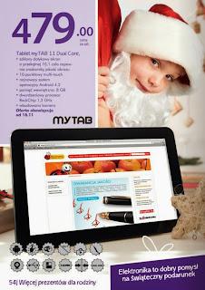 Tablet myTAB 11 Dual Core z Biedronki ulotka