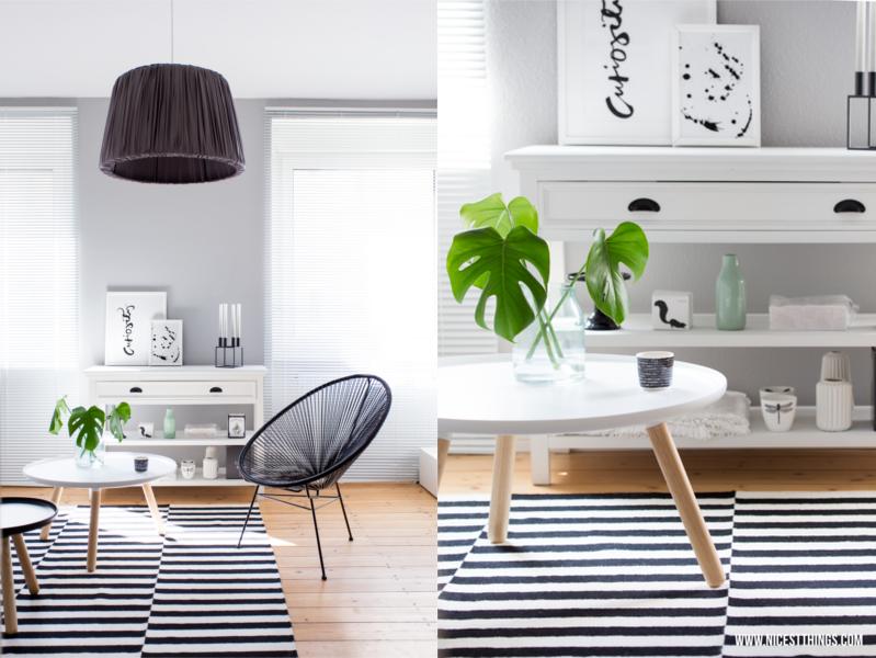 beautiful wohnzimmer weis mit holz gallery - house design ideas