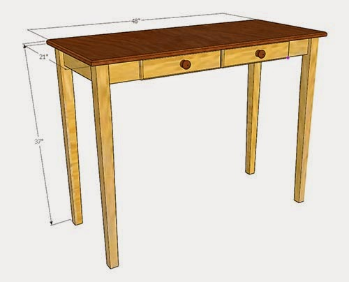 Foyer Table Measurements : Simply easy diy hall table sofa console