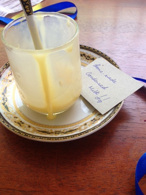 Homemade condensed milk 4
