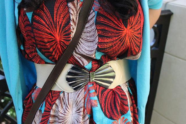 Vintage Clam Belt