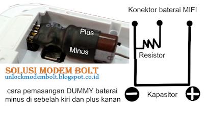 Membuat Baterai Modem BOLT 4G LTE Lebih Awet