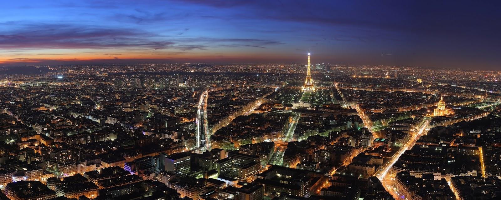 Android Wallpaper Paris At Night Dual