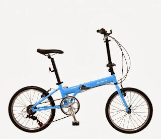 Biria folding bike