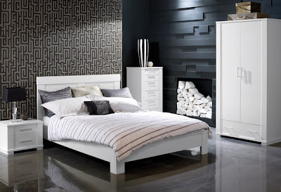 White Masculine Bedroom Furniture Ideas