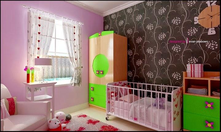 Dekorasi Kamar Bayi Rumah Minimalis