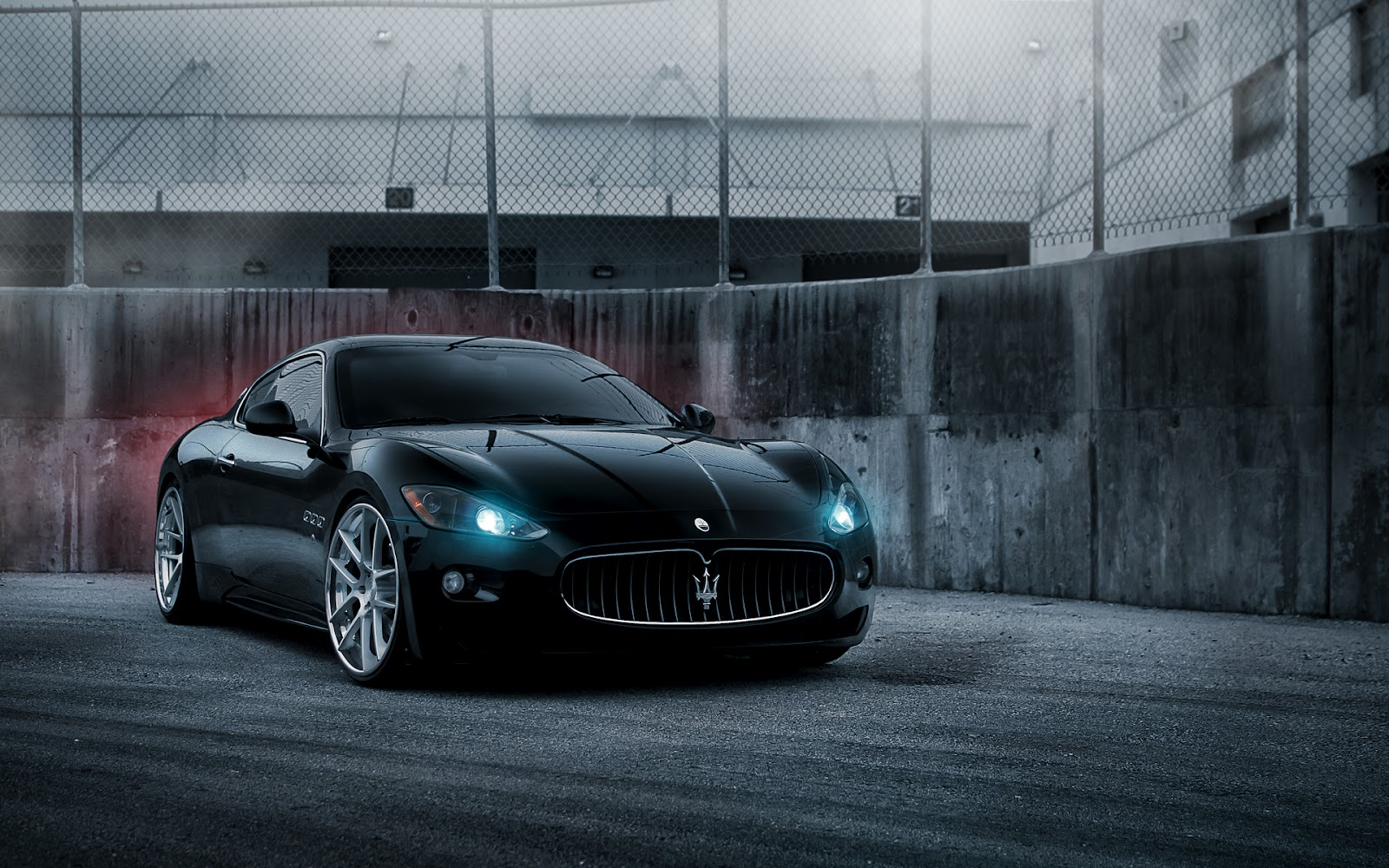 Wallpapers HD Maserati Granturismo Carros Deportivos
