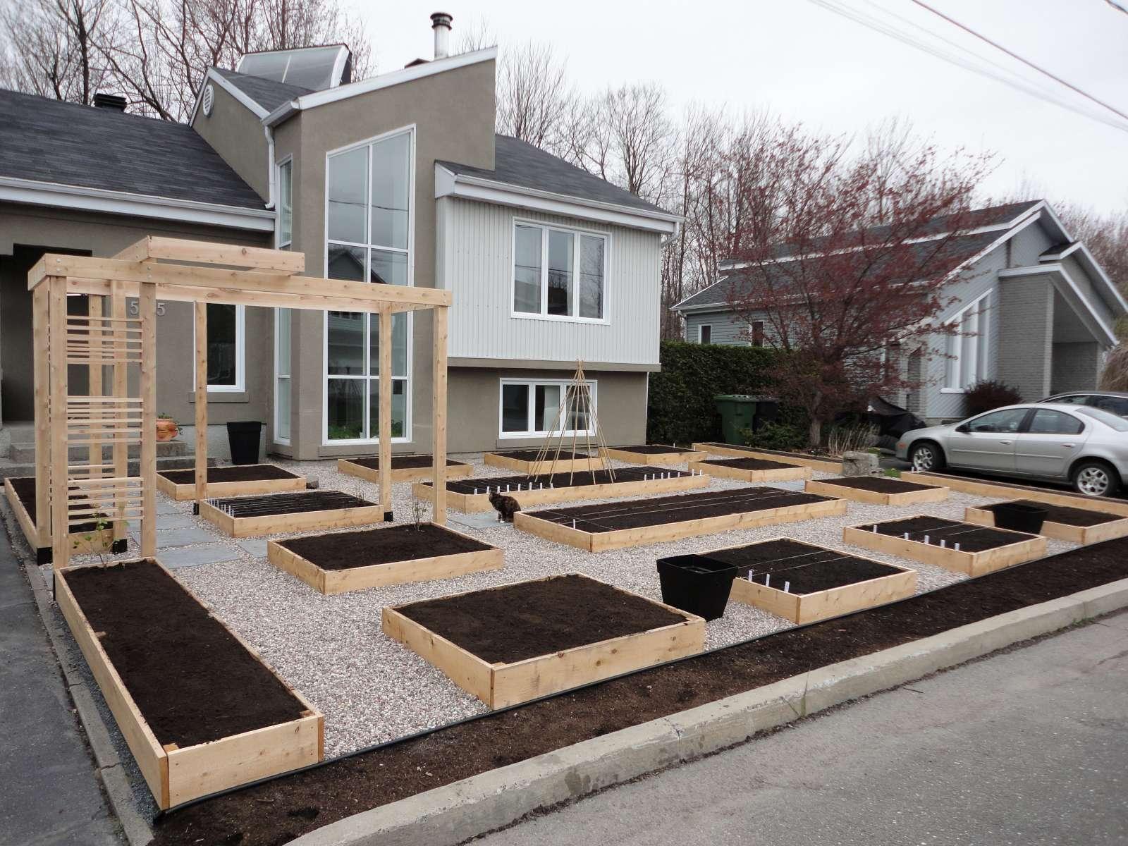 Le potager urbain potager en photos et vid os - Maison jardin senior living community reims ...