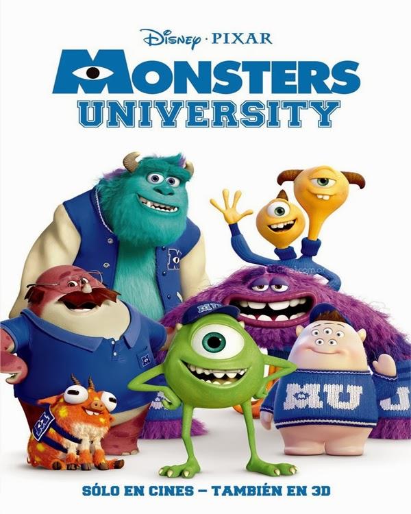 فيلم الانمى والمغامرات المشوق Monsters