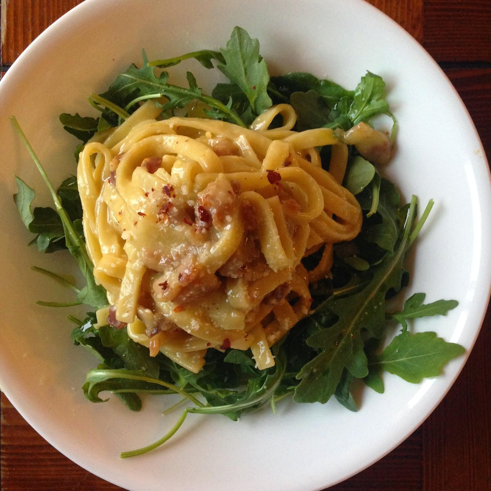 Pasta dish made with Capello's pasta