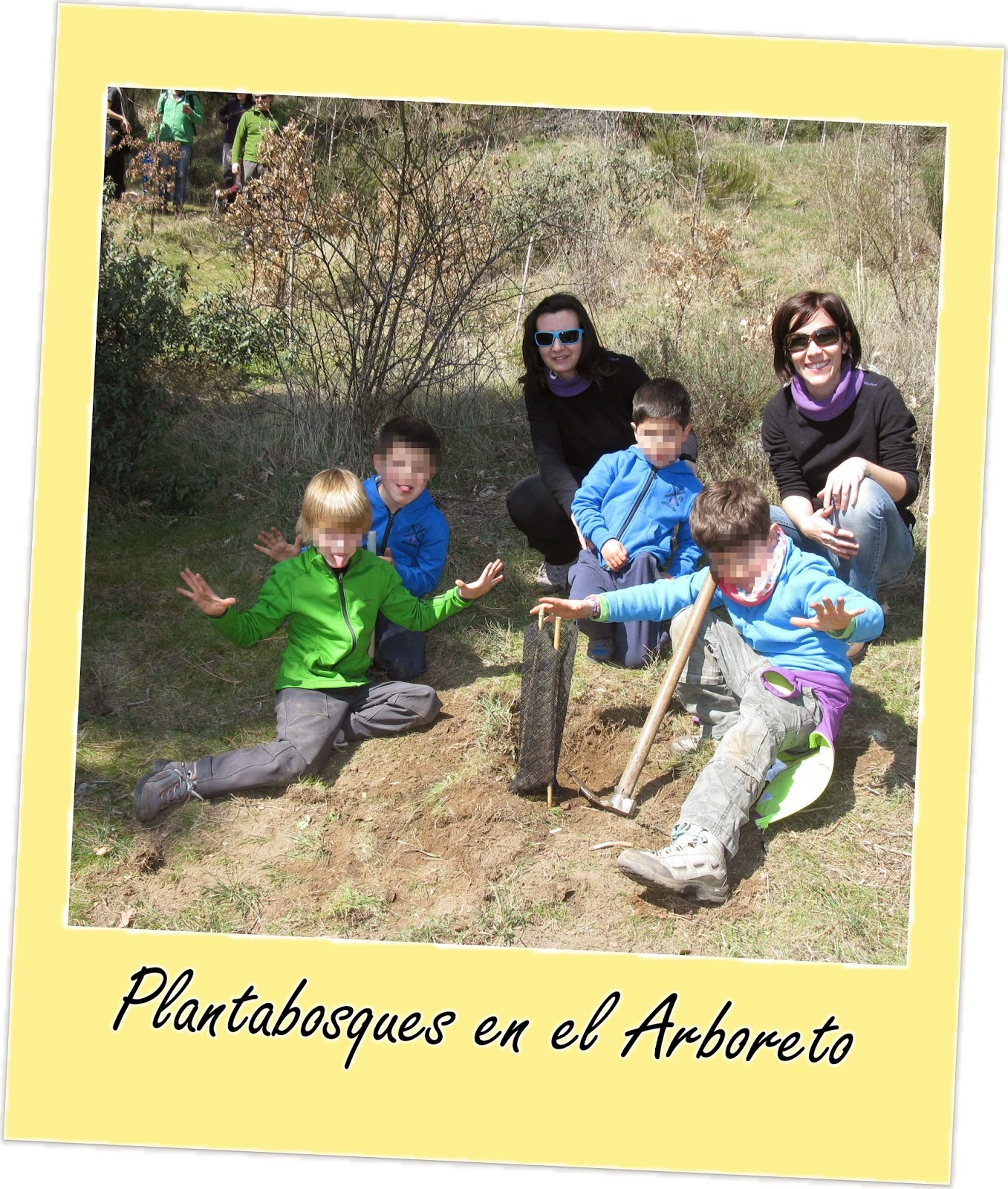 Taller de Plantabosques en el Arboreto