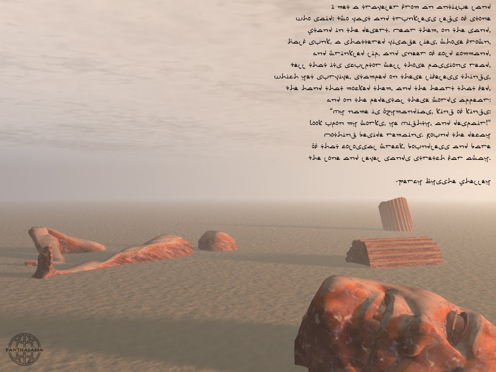 poem analysis of ozymandias