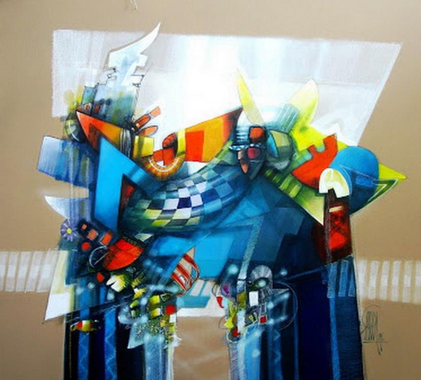 Cuadros pinturas oleos cuadros modernos para decoraci n for Pintura para apartamentos modernos