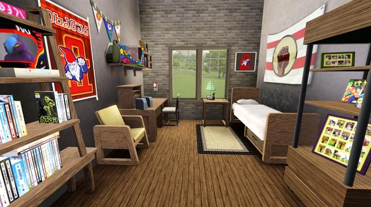 Decorating Ideas > My Sims 3 Blog College Street Dorm By Bangsain ~ 164505_Sims 3 Dorm Room Ideas