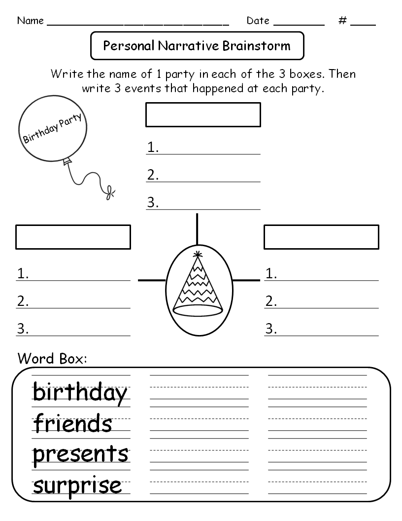 personal narrative example 6th birthday party Find and save ideas about personal narrative writing on pinterest | see more ideas about personal narratives, second person narrative and narrative writing.