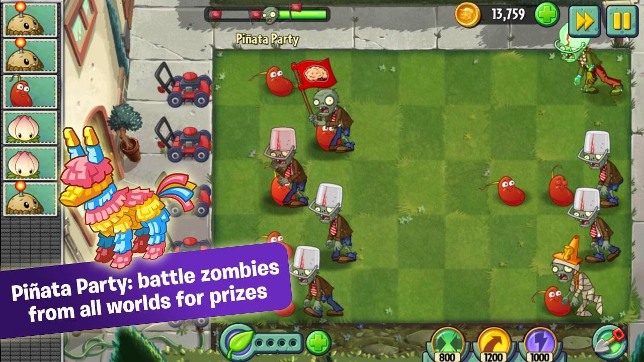 Plants Vs Zombies 2 MOD APK DATA V1 9 2  1 9 2   Mod Unlimited Gold