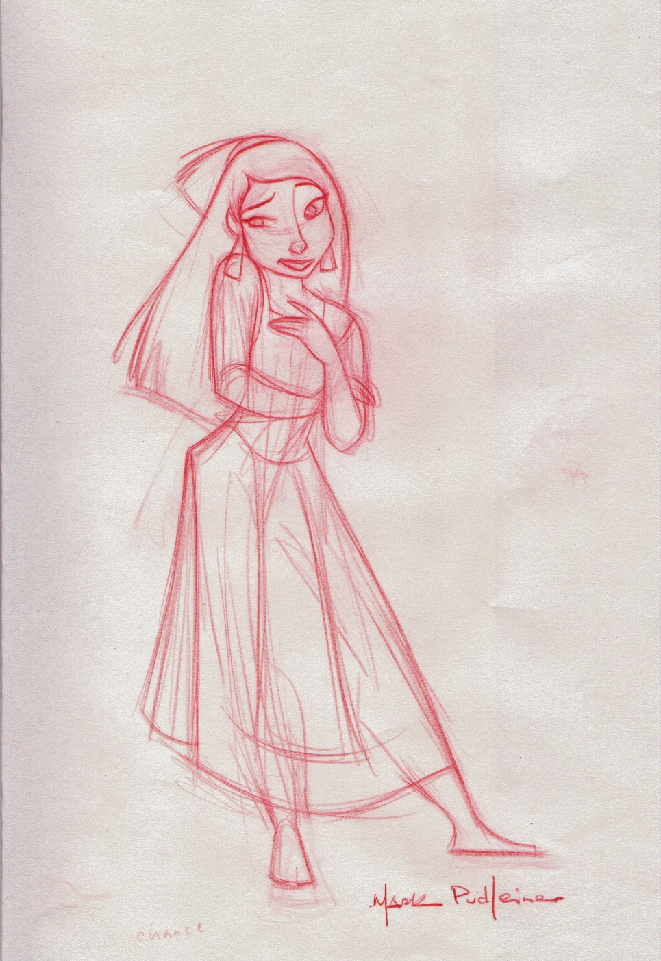 Pudleiner Kingdom Of The Sun Rough Nina Sketches