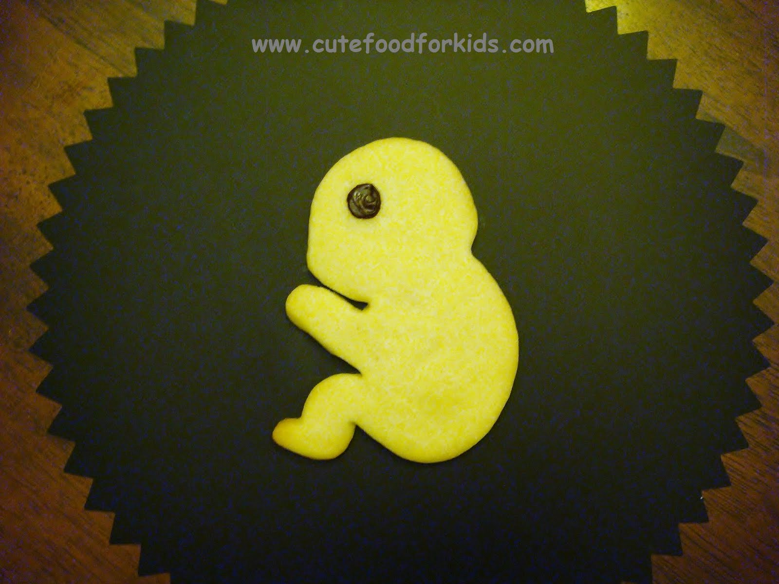 Cute Food For Kids Fetus Cookie Lots More Cookie Ideas For Baby