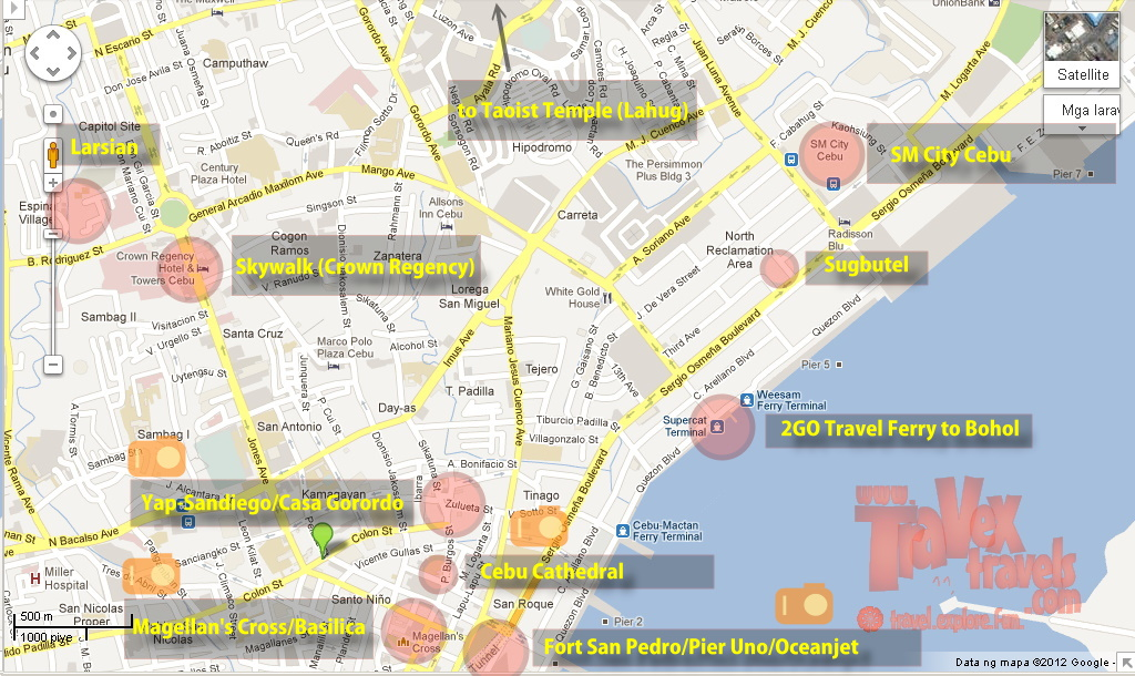 How to Go to Cebu Attractions Colon Street to Casa Gorordo Travex