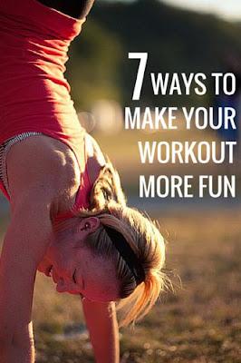 7 Ways To Make Your Workout More Fun