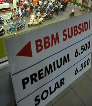 Harga BBM Resmi Naik, Bensin Rp 6.500 per Liter