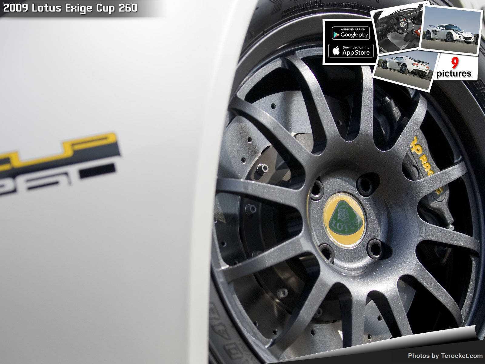 Hình ảnh siêu xe Lotus Exige Cup 260 2009 & nội ngoại thất