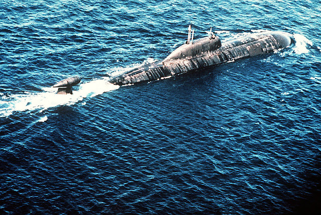 Akula Class - Kapal Selam Tenaga Nuklir Russia