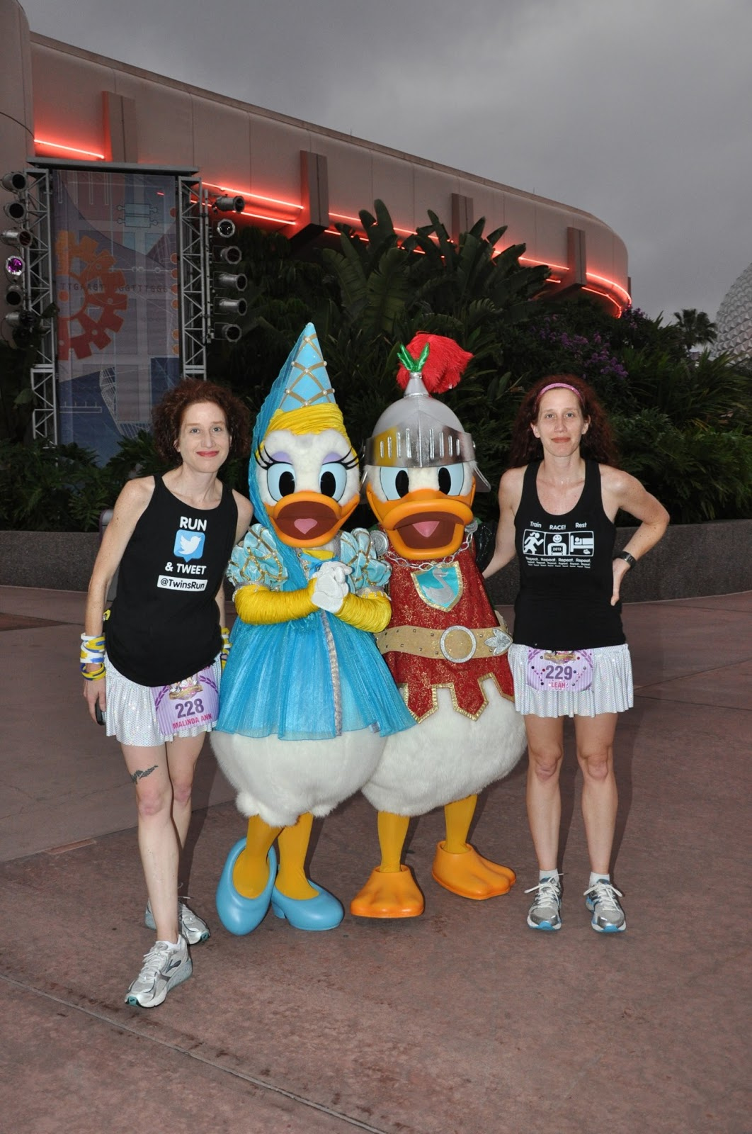 Twins Run In Our Family Twins Run The Rundisney 2013