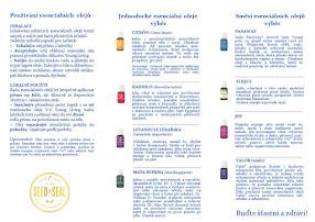 Vzácné a požehnané oleje, esence