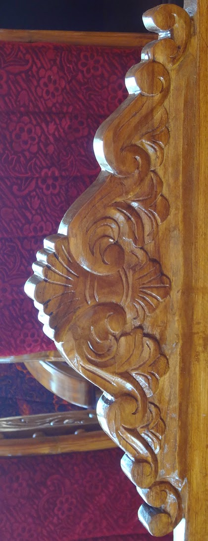 Kerala Model Furniture wood carving