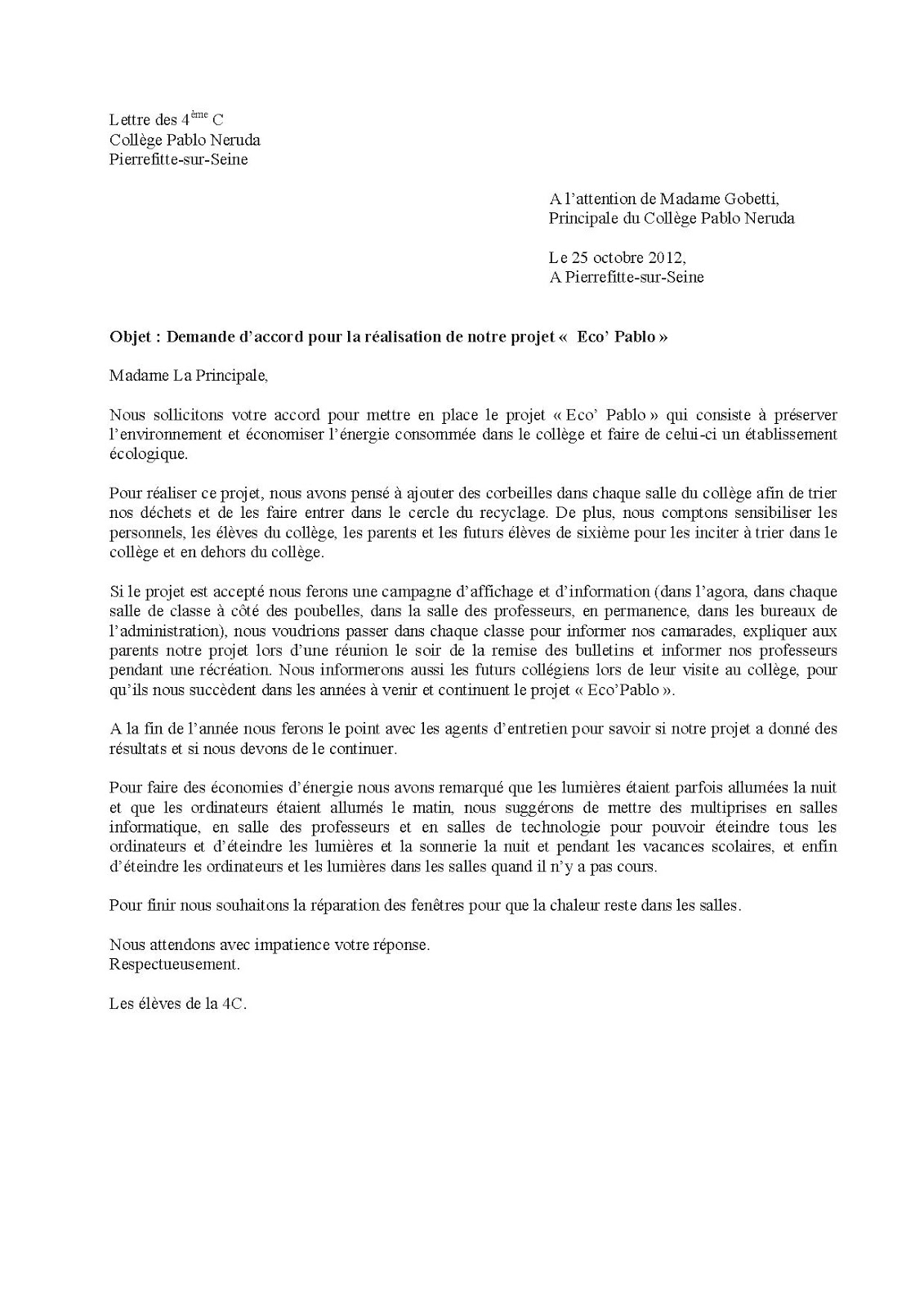 Sample Cover Letter: Exemple De Lettre Officielle En Allemand