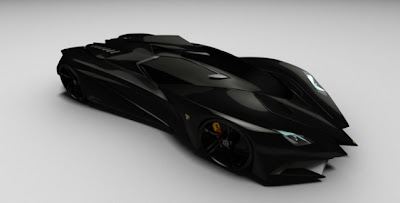 Lamborghini Ferruccio for Bat Man 4