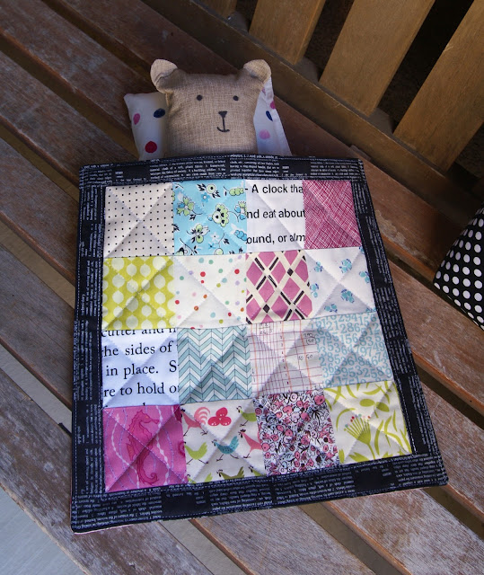 Mr. Bear Child's Toy Kit by Fabric Mutt