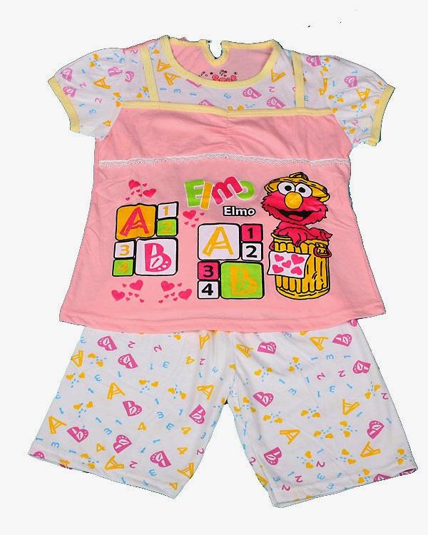 gambar contoh model baju tidur anak perempuan terbaru