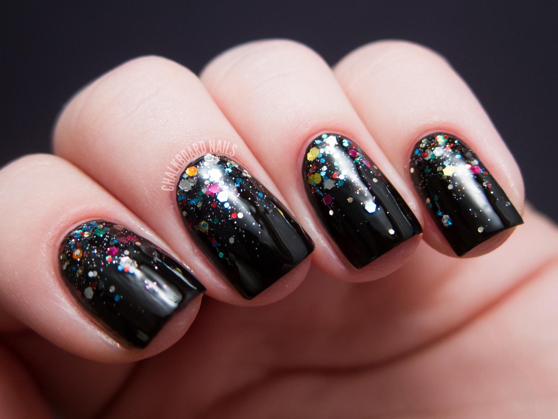 Nicole by OPI Selena Gomez Glitter Gradients | Chalkboard Nails ...