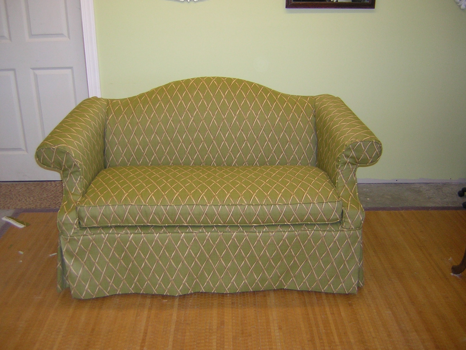 Slipcover Chic British Colonial Chippendale Loveseat
