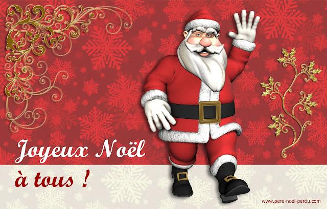 Les cartes de vœux du Père Noël