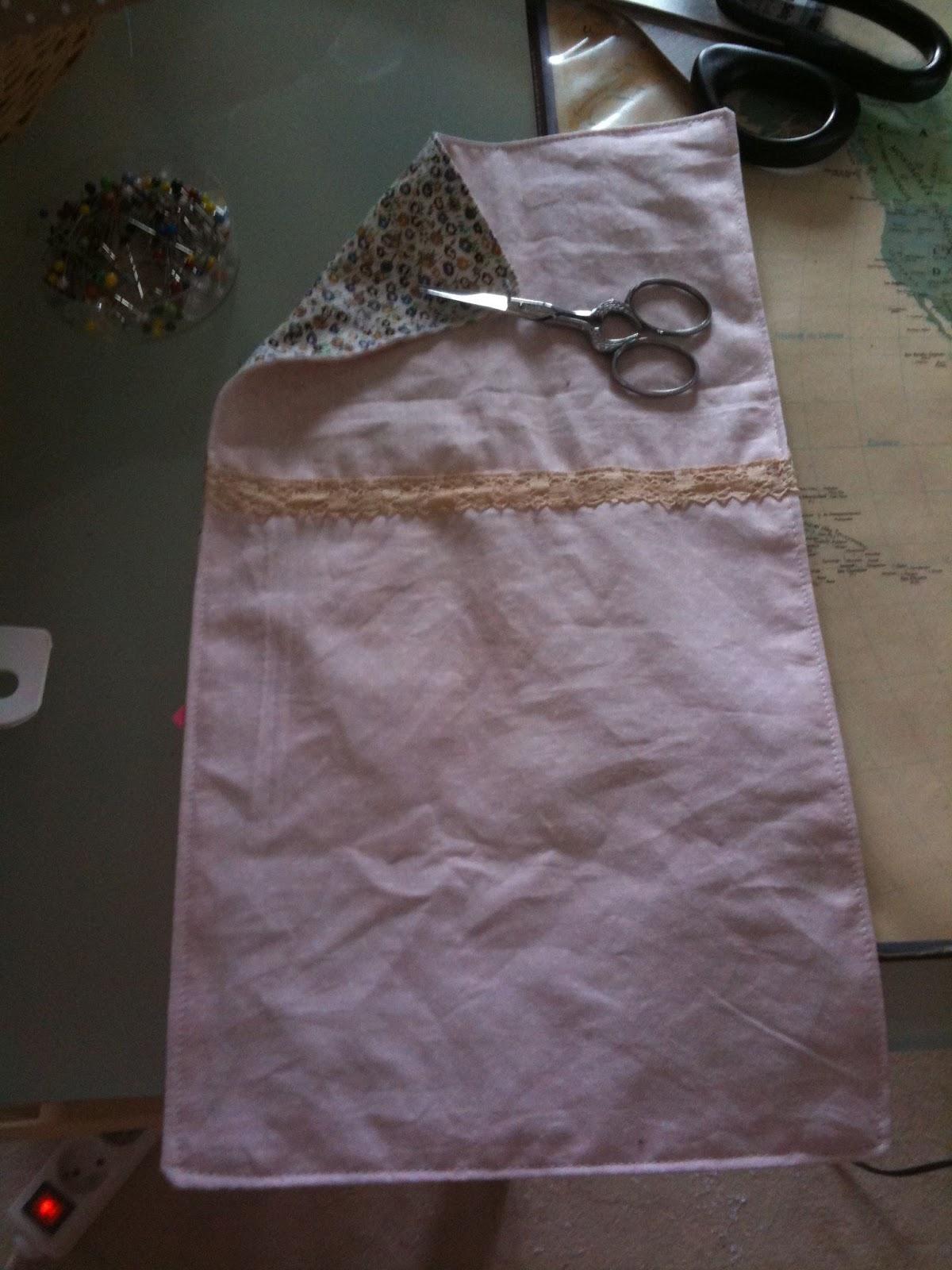 Miss sa cha tutoriel fabriquer une housse de coussin for Fabriquer un drap housse