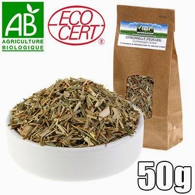herbes citronnelle 50g