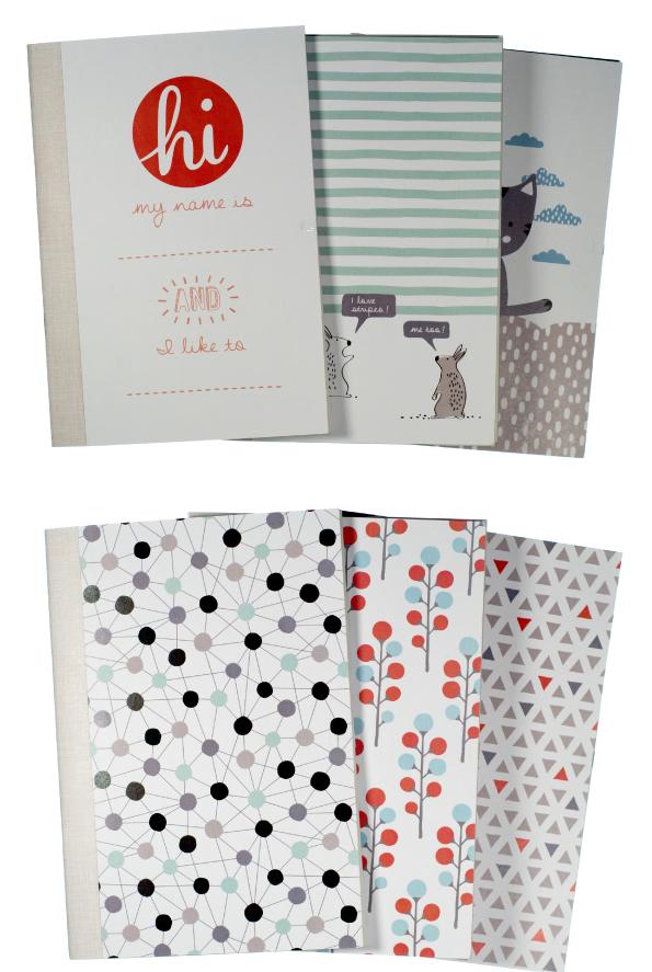 Nollison printed notebooks