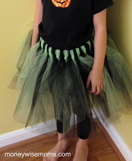 No Sew Tulle Skirt