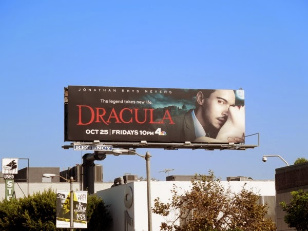 Dracula TV remake billboard