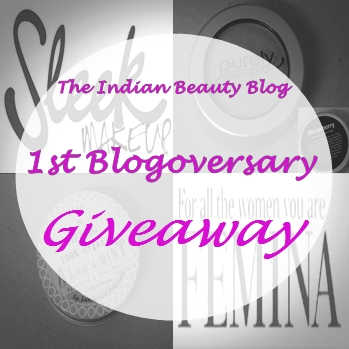 Indian Beauty Giveaway