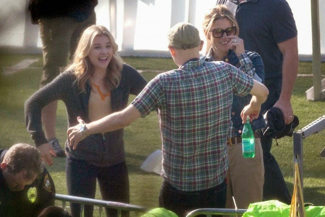 chloe grace moretz 5th wave movie behind the scenes J Blakeson