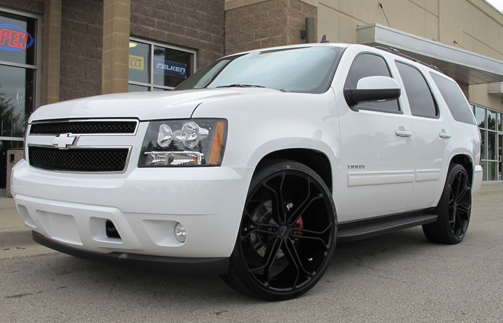 26 Inches Rims On Chevy Tahoe 2015 Pictures | Autos Post