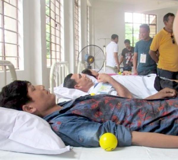 Dimapur Gorkha Union and Gorkha Students Union Dimapur organize blood donation camp at Dist hospital