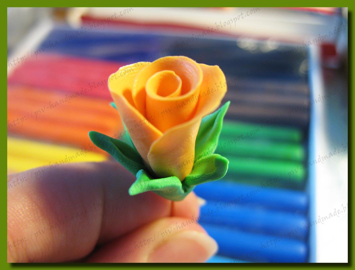 Мастер-класс по лепке цветов из полимерной глины